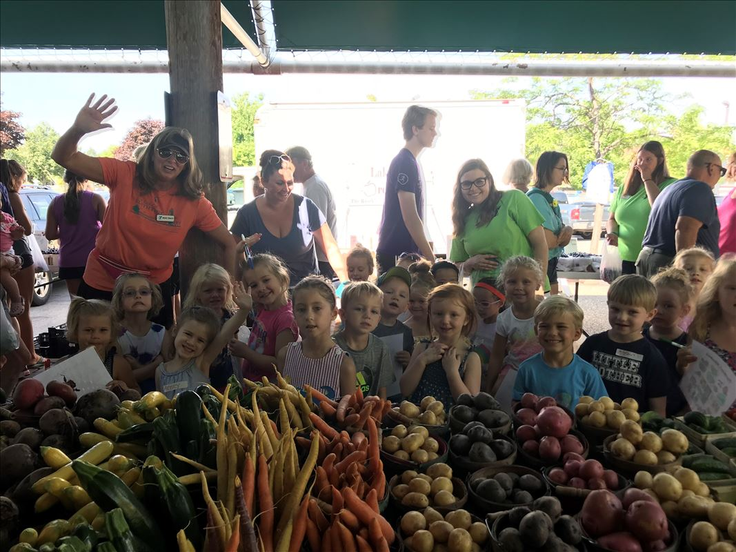 Grand Haven Farmers Market Kids